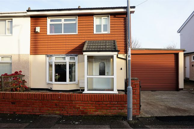 Thumbnail Semi-detached house for sale in Ellesmere Drive, Seaham