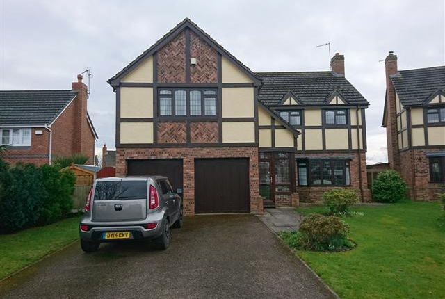 Thumbnail Detached house for sale in Fothergill Way, Wem