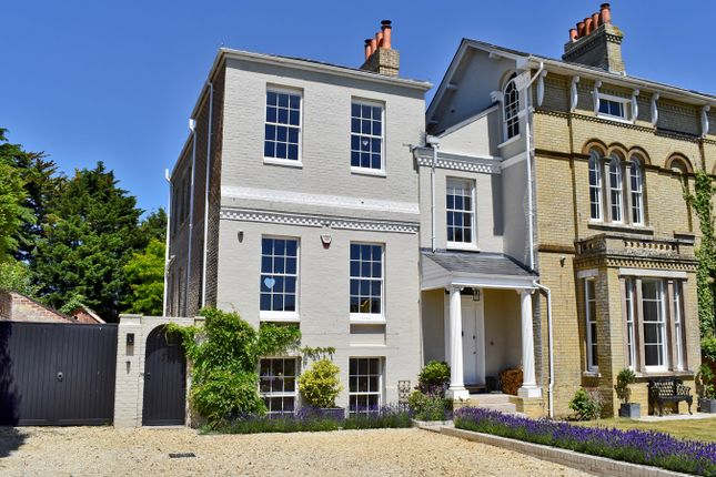 Thumbnail Link-detached house for sale in Highfield, Lymington