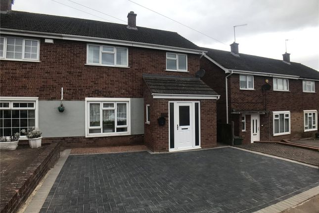 Thumbnail Semi-detached house to rent in Ambleside Drive, Worcester