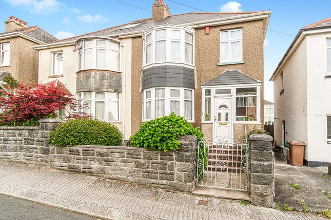 Thumbnail Semi-detached house for sale in Birchfield Avenue, Plymouth