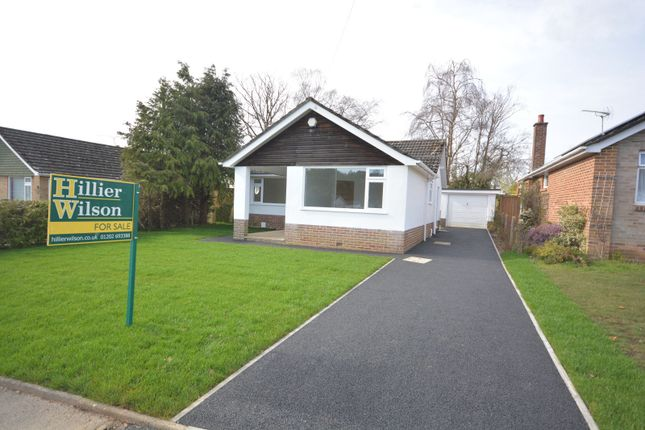 Thumbnail Detached bungalow for sale in Troon Road, Broadstone