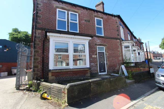 Thumbnail End terrace house to rent in Stalker Walk, Sheffield