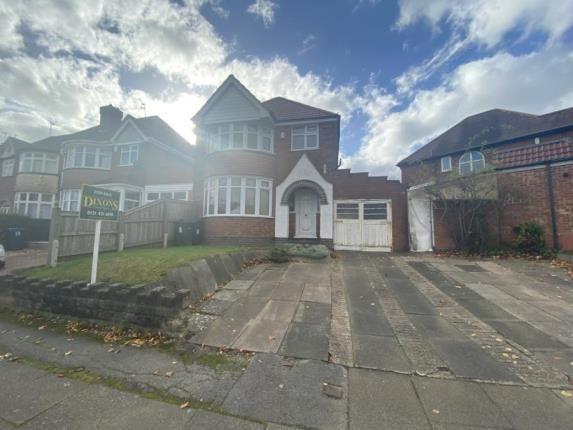 Thumbnail Detached house for sale in Ridgacre Lane, Quinton, Birmingham, West Midlands
