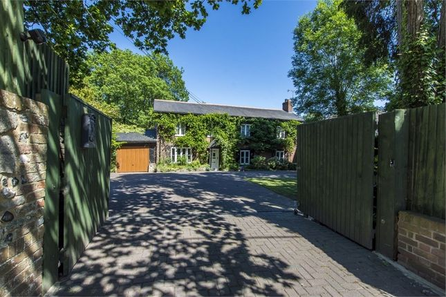 Thumbnail Detached house for sale in Winchester Road, Fair Oak, Eastleigh, Hampshire