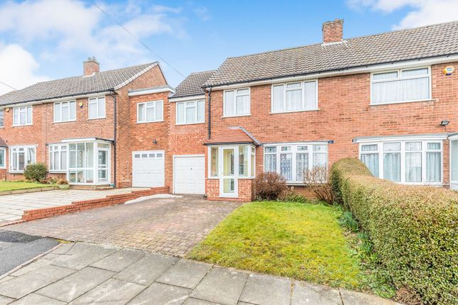 Thumbnail Semi-detached house for sale in Clover Road, Northfield, Birmingham