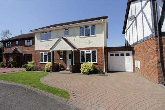 Thumbnail Detached house for sale in Barncombe Close, Benfleet