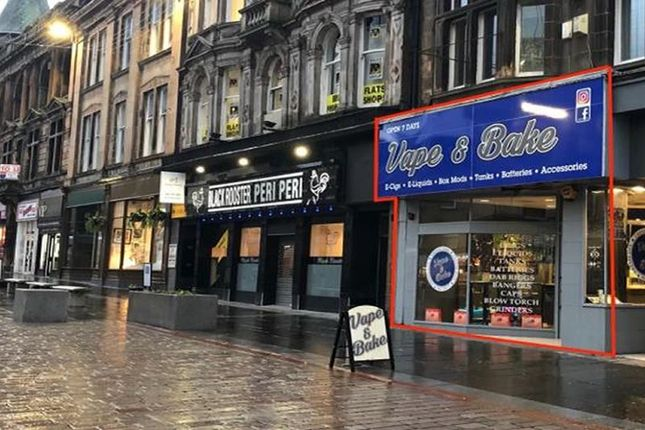 Thumbnail Commercial property for sale in 26, High Street, Paisley PA12Bs