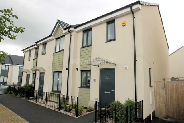 Thumbnail Semi-detached house for sale in Polperro Place, Plymouth