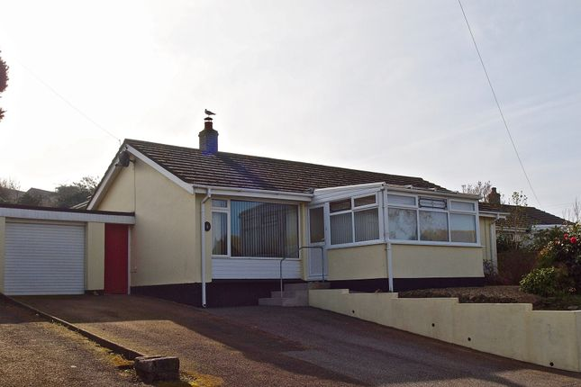 Thumbnail Detached bungalow for sale in Vivian Park, Camborne