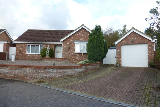 Thumbnail Detached bungalow for sale in Nightingale Drive, Taverham, Norwich
