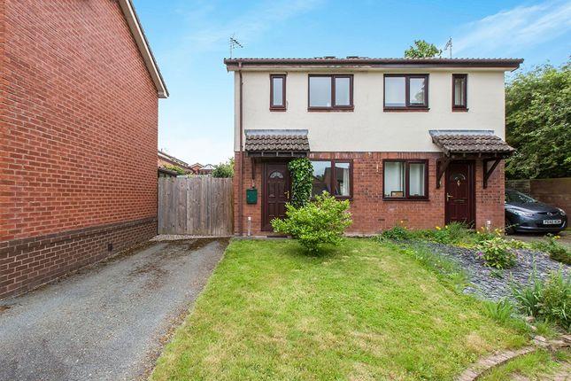 Thumbnail Semi-detached house for sale in Crampton Court, Oswestry, Shropshire