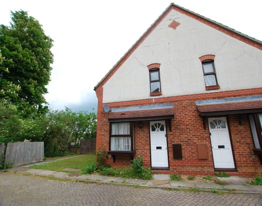 1 bed end terrace house to rent in Augustus Road, Hockliffe, Leighton Buzzard LU7