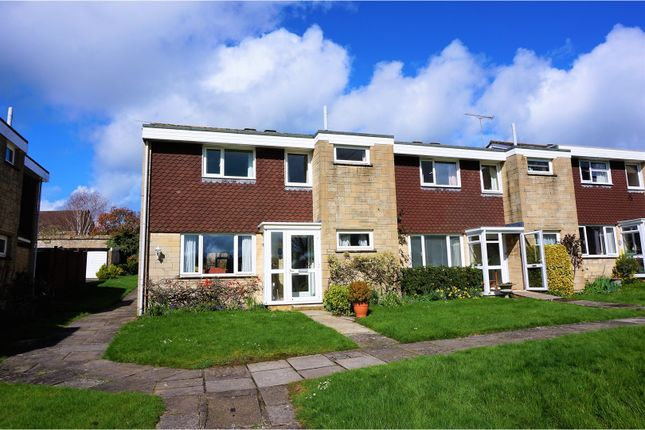 Thumbnail End terrace house for sale in St. Swithins Close, Sherborne