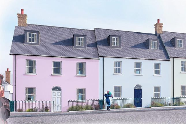 Thumbnail End terrace house for sale in Nansledan, Quintrell Road, Newquay, Cornwall