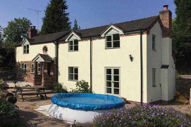 Thumbnail Detached house to rent in Dale Cottage, Fairoak, Eccleshall, Staffordshire