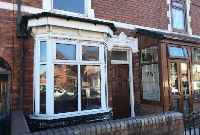 Thumbnail Terraced house to rent in Stoneleigh Road, Handsworth, Birmingham