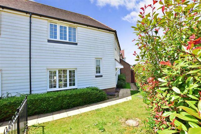 Thumbnail Semi-detached house for sale in Hazen Road, Kings Hill, West Malling, Kent