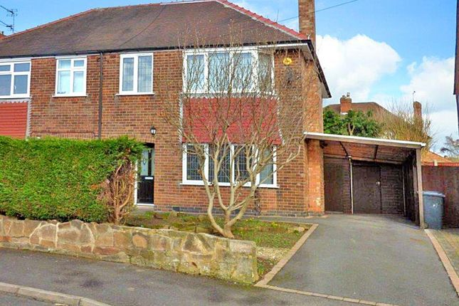 Thumbnail Semi-detached house for sale in Pingle, Derby