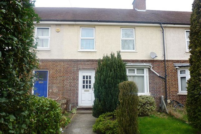 Thumbnail Terraced house to rent in Glebe Road, Cambridge