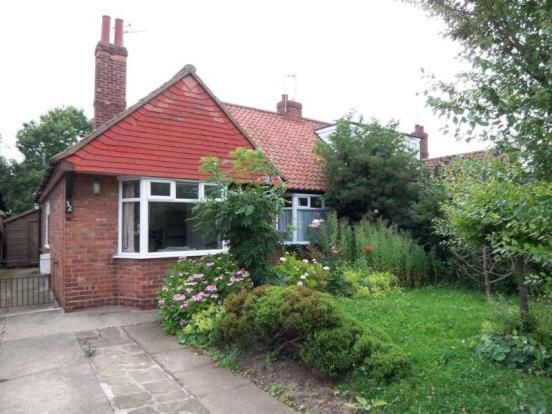 Thumbnail Semi-detached bungalow to rent in Grants Avenue, York