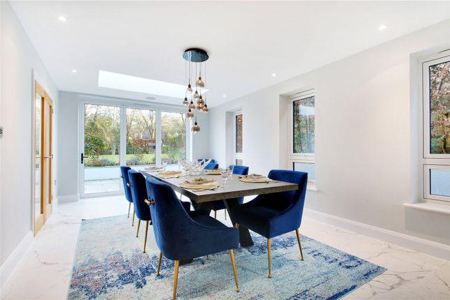 Dining Room of The Rise, Sevenoaks, Kent TN13
