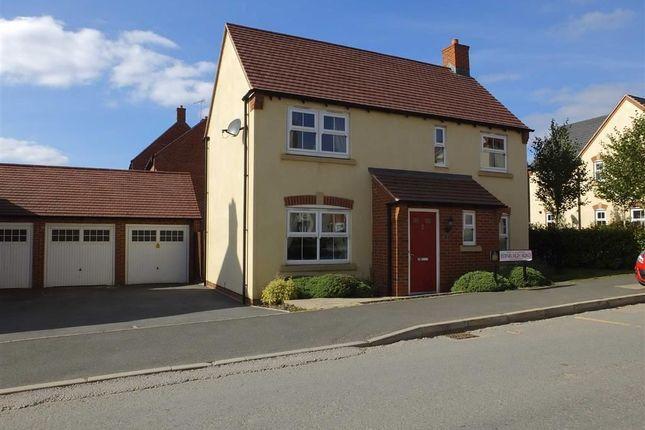 Thumbnail Detached house for sale in Edinburgh Road, Swadlincote, Derbys
