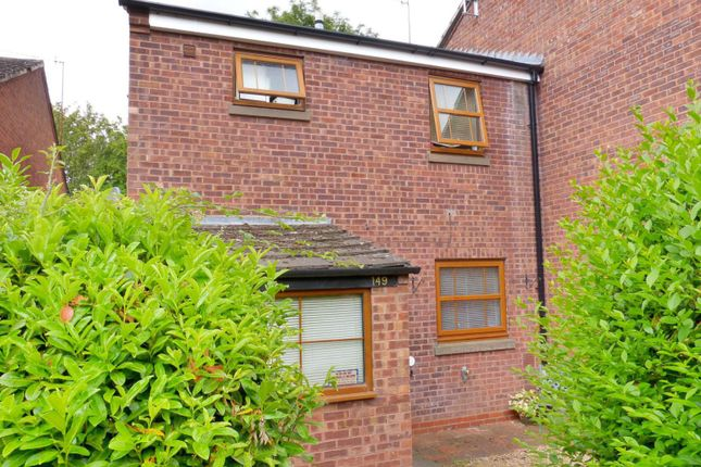 Thumbnail End terrace house to rent in Northleach Close, Church Hill North, Worcestershire