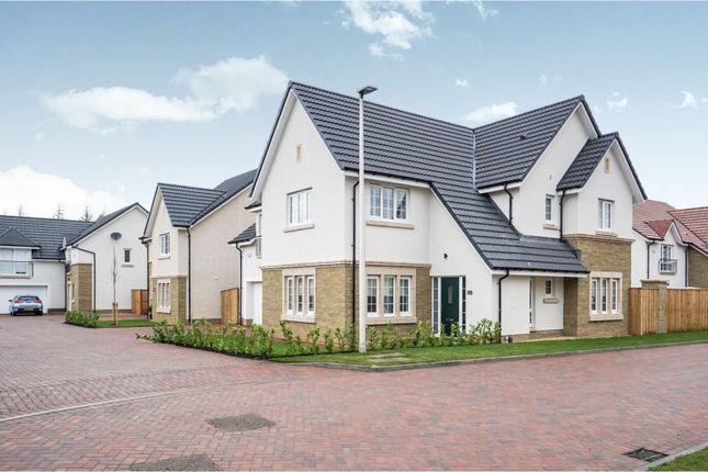 Thumbnail Detached house for sale in Castleton Crescent, Larbert