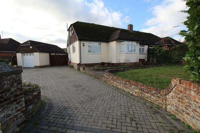 Thumbnail Semi-detached house for sale in Oldfield Road, Eastbourne