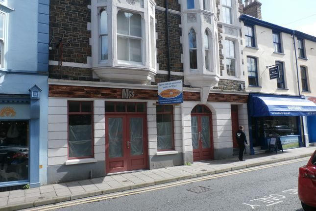 Commercial property for sale in Chalybeate Street, Aberystwyth