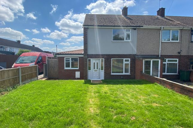 Thumbnail End terrace house for sale in Diana Drive, Potters Green, Coventry