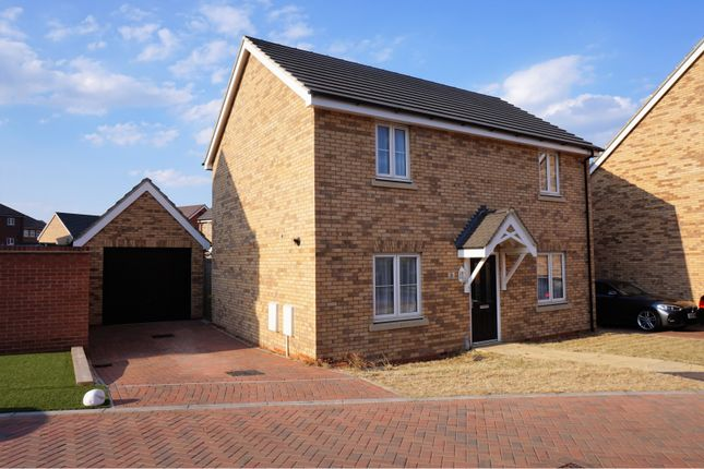 Thumbnail Detached house for sale in Keeley Croft, New Cardington, Bedford