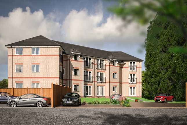 Thumbnail Flat for sale in Pix Court, Arlesey