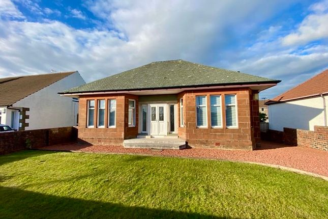 Thumbnail Detached bungalow for sale in Castlehill Road, Ayr
