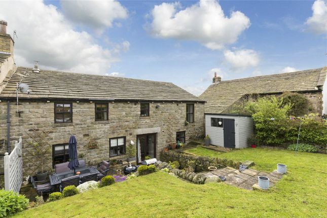 Thumbnail End terrace house for sale in Fields Barn, Ryecroft, Harden, West Yorkshire