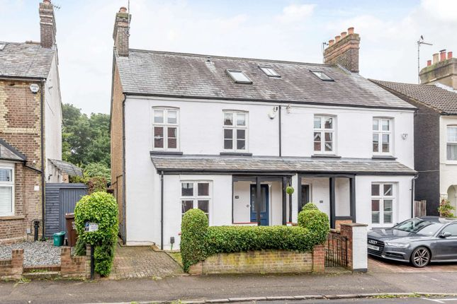Thumbnail Semi-detached house for sale in Tennyson Road, Harpenden, Hertfordshire