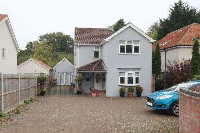 Thumbnail Detached house for sale in Longwater Lane, New Costessey, Norwich
