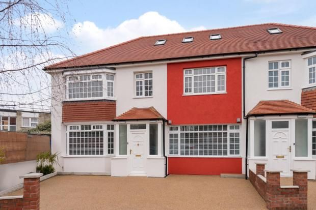 Thumbnail Semi-detached house for sale in Rectory Gardens, Crouch End, London