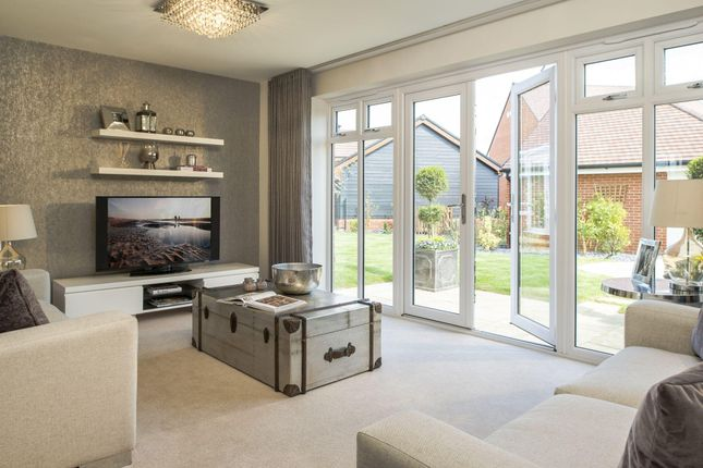"Thumbnail Semi-detached house for sale in ""Kedlestone"" at Barnett Road, Steventon, Abingdon"