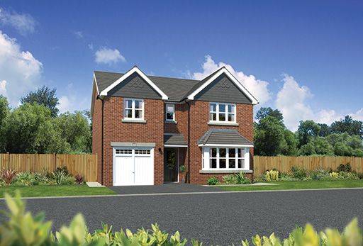 Thumbnail Detached house for sale in Winterley Gardens, Crewe Road, Winterley, Cheshire