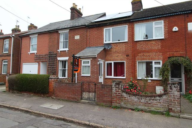 Thumbnail Terraced house for sale in Parkfield Street, Rowhedge, Colchester
