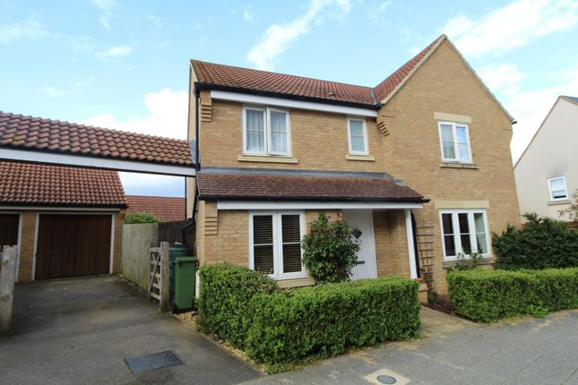 Thumbnail Detached house to rent in Hepburn Crescent, Milton Keynes, Buckinghamshire