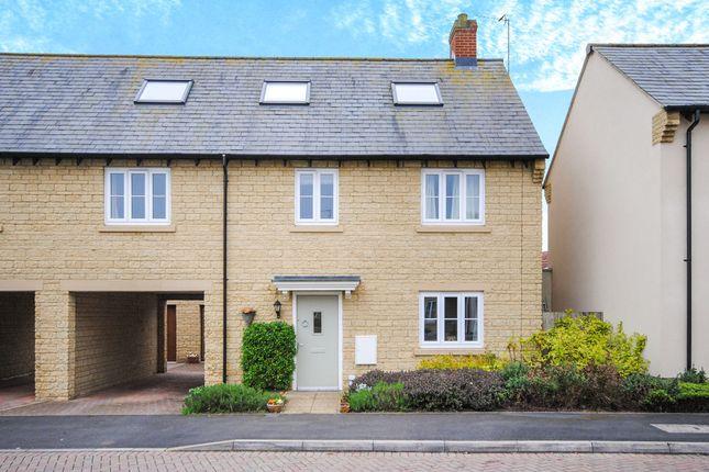 Thumbnail End terrace house for sale in Hazeldene Close, Eynsham, Witney
