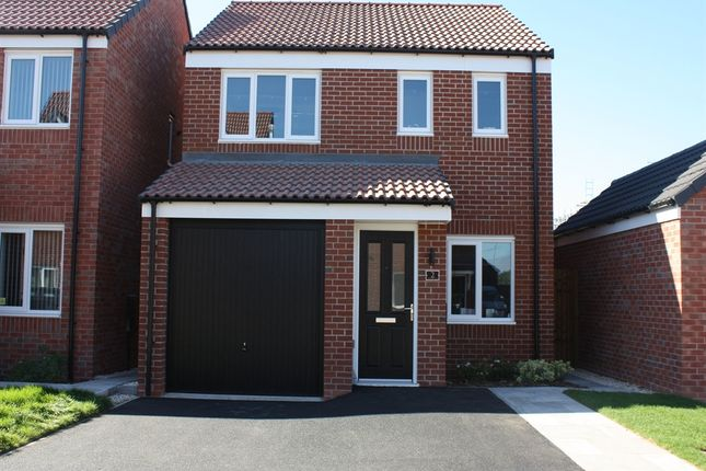 "3 bedroom semi-detached house for sale in ""The Rufford"" at Ward Road, Clipstone Village, Mansfield"