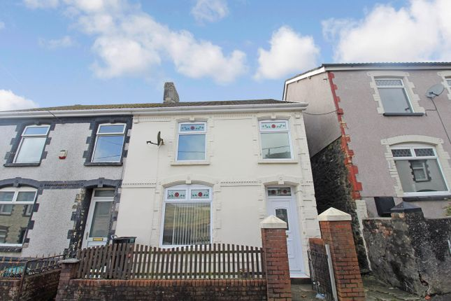 Thumbnail Semi-detached house for sale in Drysiog Street, Ebbw Vale
