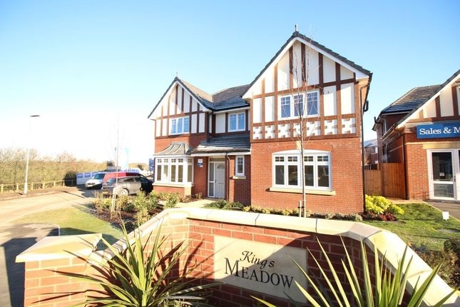 Thumbnail Detached house for sale in Kings Close, Staining, Blackpool