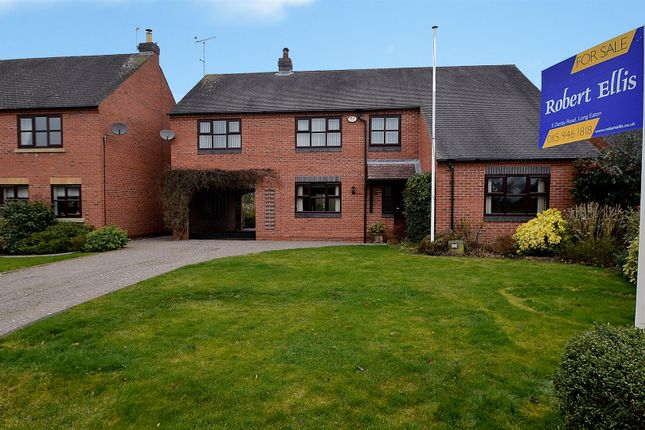 Thumbnail Detached house for sale in Meadow Court, Ambaston, Derby
