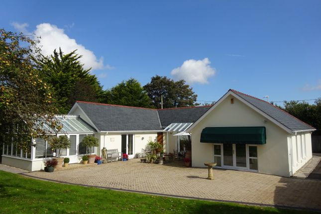 Thumbnail Detached bungalow for sale in Llanrhidian, Gower, Swansea