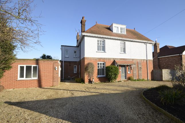 Thumbnail Detached house for sale in Church Road, Old Felixstowe, Felixstowe